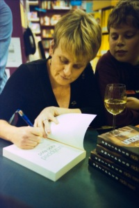 This was taken at the launch of Unzipped at Readings Carlton. It was taken by Sher Rill Ng who is a star.